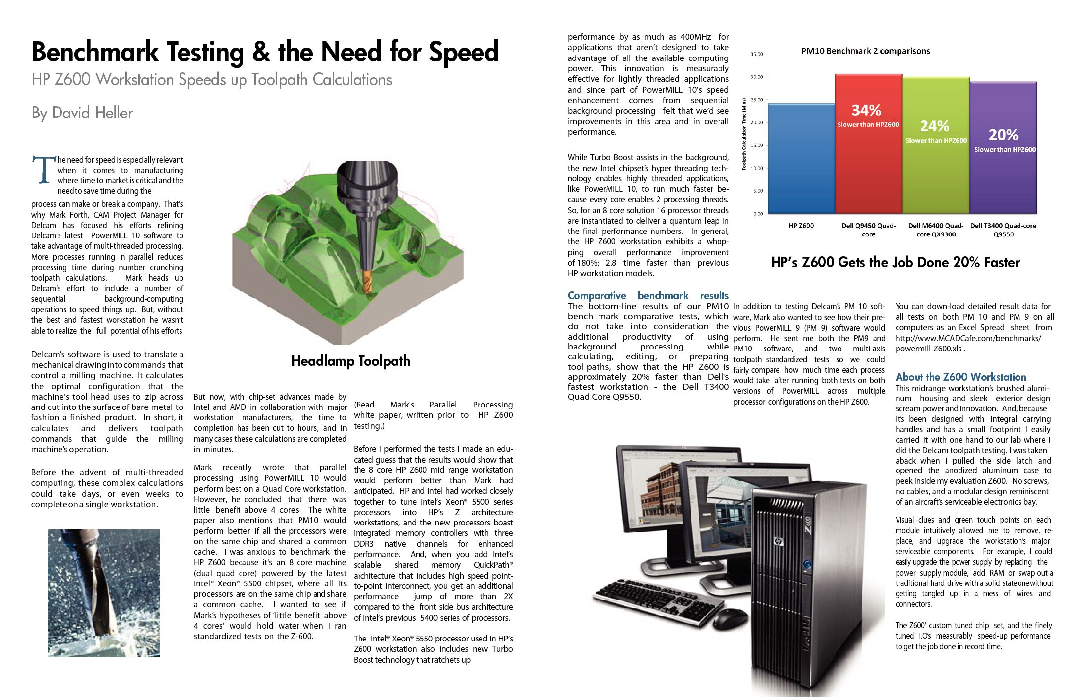 HP Z600 Brochure